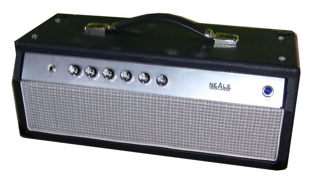 small ampeg style amp head