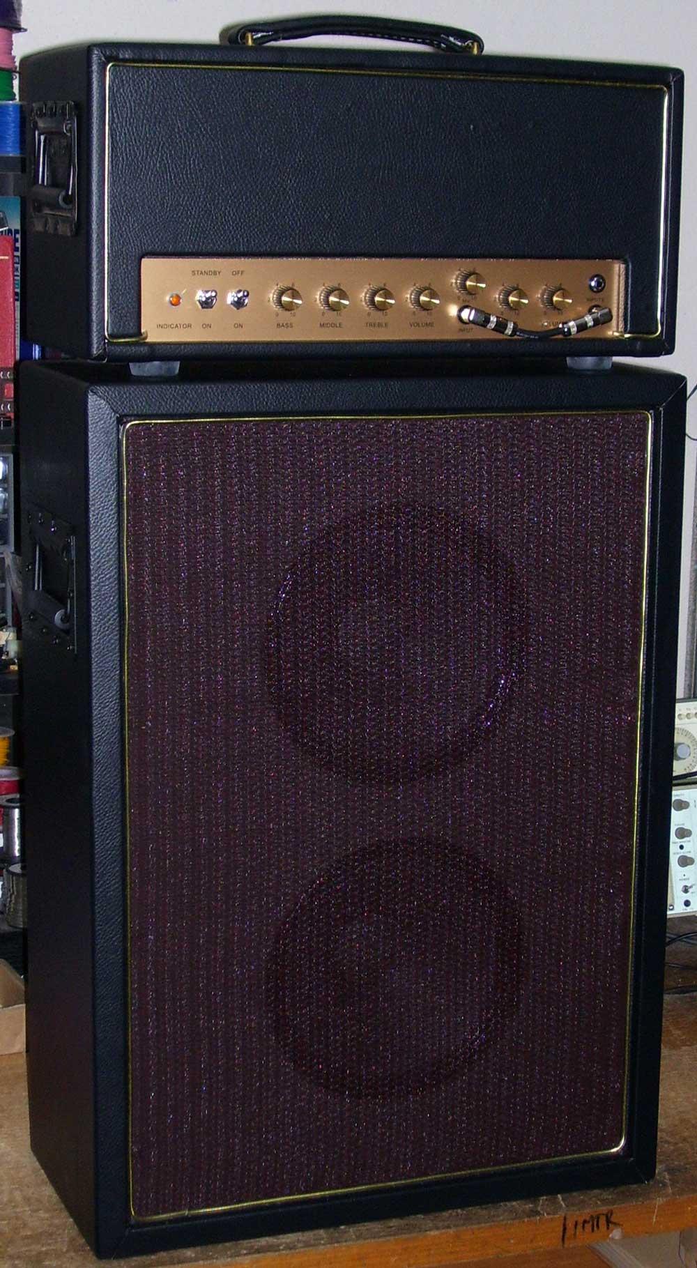 Custom made valve guitar amps, hand made guitar amps, valve