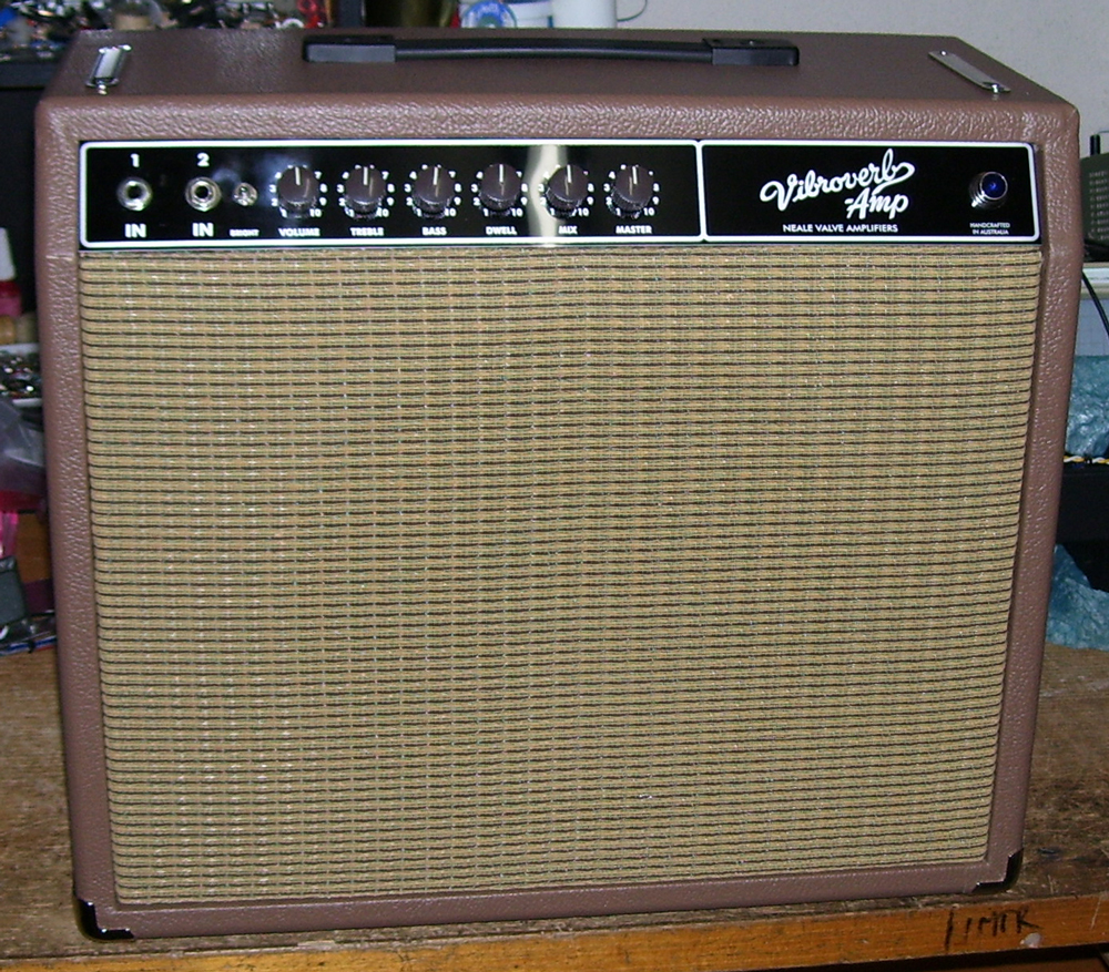 Vibroverb Reissue, by Neale Amplifiers